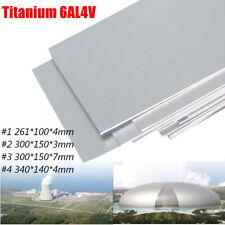3/4/7MM 6AL-4V Titanium Ti Titan Blech Platte Titanblech 5 Ti Gr5 Blechstücke