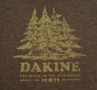 Dakine Long Sleeve T Shirt Large Gray EUC Redwood Trees INV2374