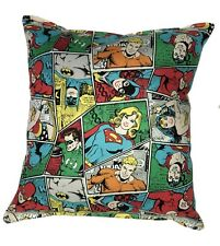 Justice League Pillow DC Grouped Pillow DC Comics Flash, Batman , Wonder Women