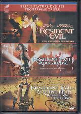 Resident Evil/Resident Evil: Apocalypse/Resident Evil: Extinction - Trilogy DVD