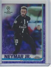 2018-19 Topps Chrome UEFA Purple Refractor #50 Neymar Jr #103/250 PSG