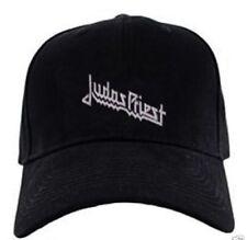 Judas Priest black cap hook and loop closure heavy metal speed hard rock hat