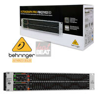 Behringer ULTRAGRAPH PRO FBQ3102HD Dual Channel 31-Band Stereo Graphic Equalizer