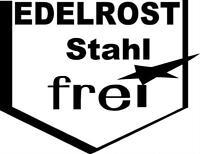 Edelrost Stahlfrei Aufkleber Oldschool Retro Kult 10X13cm!