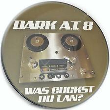 Picture Vinyl Dark A.T.8  Was Guckst Du Lan? Remix Rare Limited Edition