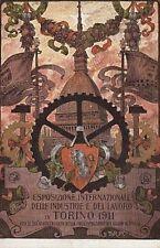 A5120) TORINO 1911, ESPOSIZIONE INTERNAZIONALE DELLE INDUSTRIE E DEL LAVORO. VG.