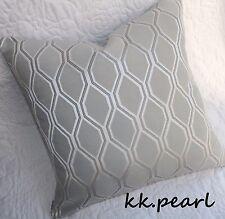 Elegant Bold Geometric Cushion Cover ALBANY JOHN LEWIS Fabric Reversible 16