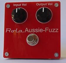 AUSSIE - FUZZ  pedal effect box tube valve design new MK-III