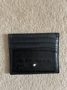 Mont Blanc Leather Card Holder - Black