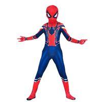 Costume Spiderman Carnevale Bambini Avengers Cosplay Vestito