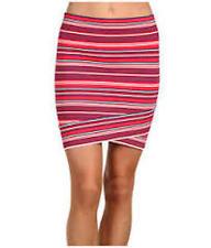 "Gorgeous BCBG MAXAZRIA ""Ivy"" Stripe Bandage Mini Skirt Size S/8 - STUNNING !"