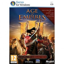 AGE OF EMPIRES 3 III Complete Collection Gioco PC-Nuovo di zecca!