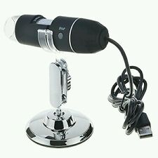 USB 1000X Microscope Endoscope Magnifier Digital Video Camera Microscope  LED