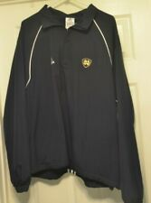 Adidas  Notre Dame Embroidered Polyester Pullover Jacket Mens Size L NWT