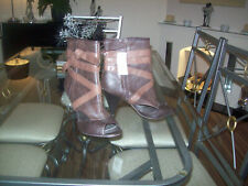 Summer Ankle Open Toe Boots  Size 7