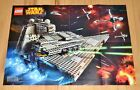 LEGO Star Wars Imperial Star Destroyer B-Wing & Minifigure POSTER 75050 & 75055