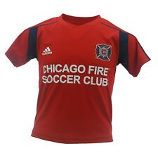 Chicago Fire Official MLS Adidas Youth Kids Size Athletic Jersey New With Tags