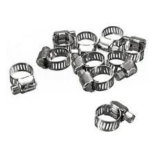 10x Gelenkbolzenschellen Schlauchschellen Bandschelle Bandbreite Stahl 6-12 P0E8