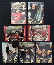 NHL 2006-07 UD POWER PLAY STANLEY CUP CELEBRATIONS 7 CARD INSERT SET - 002