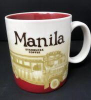 2008 STARBUCKS MANILA CITY MUG  16 OZ