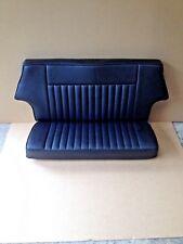 Classic Mini Trasero Cubierta de asiento negro/negro tuberías