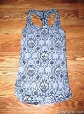 KARMA ~ New! Size XS ~ Black CHANTILLY LACE Racerback Yoga Tank Shirt