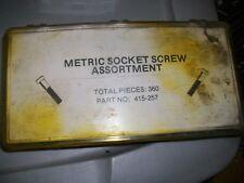 New listing socket head cap screw, nuts, flatwasher, lockwasher assortment