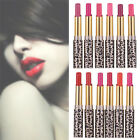 12Pcs/set Lot Leopard Long Lasting Lipstick Cosmetic Makeup Lip Gloss Lip Rouge