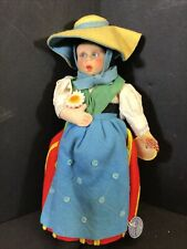 Exceptional Early 9.5� Lenci Doll All Original Tags