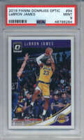 2018-19 Donruss Optic LeBron James #94 Los Angeles Lakers PSA 9