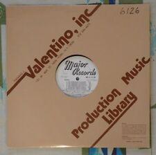Valentino / Major Library Music LP #6126 1981 M-