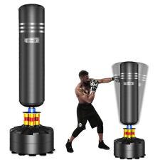 Boxsack Gefüllt Standboxsack Set Punching-Training Punching Bag Erwachsene 175cm
