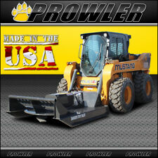60 Inch Heavy Duty Brush Mower, 14-20 GPM Flow, Skid Steer Cutter Attachment