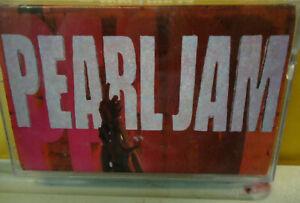 PEARL JAM - Ten - Cassette Tape 1991 Canada