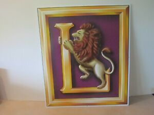 Lionel 65953 Lion Tin Sign store display (NEW) Rare