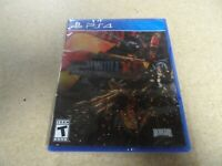 Metal Wolf Chaos XD PS4 PlayStation 4 BRAND NEW SEALED