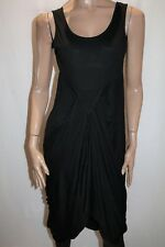 Ally Brand Black Pleated V Skirt Maxi Dress Size M BNWT #TQ24