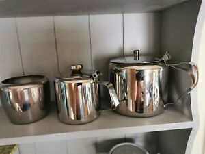 Stainless Steel Teapot Set