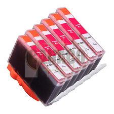 6 MAGENTA 920XL HIGH YIELD 920BK for HP Printer Officejet 6000 6500 - E609 E709