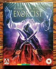 Exorcist III 3 Limited Blu-ray NEW Sealed 2 Disc Arrow Video SLIPCOVER REGION B