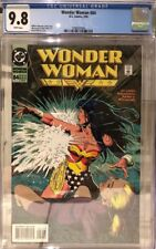 Wonder Woman 84 CGC 9.8 White Pages Brain Bolland Cover 1987 Series L@@K!