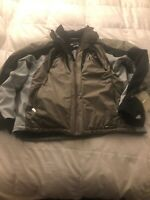 KILLY AWT MENS SKI JACKET SIZE 56 XL BLACK & GRAY RECCO SYSTEM - SUPER NICE