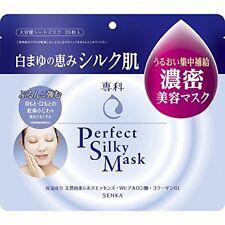 Shiseido Senka Perfect Silky Mask Face/Facial Skin Care Moisturizer(28pcs) Japan