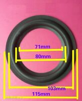 4.5 inch 115mm First-rate Bass SPEAKER FOAM SURROUND REPAIR Parts For Kenwood