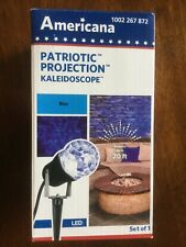 Americana Projection Kaleidoscope LED BLUE BRAND NEW 49584 free ship