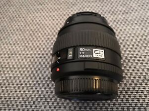 Olympus Zuiko Digital ED 50mm f2 Macro Lens 4/3rds mint condition