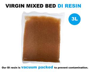3L VIRGIN MIXED BED DI RESIN Deionization Window Cleaning/Aquarium/Cars Aquati