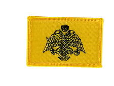 patch ecusson brode thermocollant drapeau crete grece backpack flag broderie