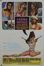 CASINO ROYALE JAMES BOND 1967 one sheet US Spanish movie poster ROBERT McGINNIS