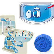 Blue Automatic Toilet Closestool Cleaner Deodorizes Tablets Cleaning Bowl Tank